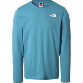 The North Face Easy Camiseta Manga Larga Hombre, azul